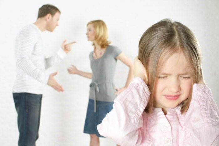 divorce fighting