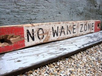 no-wake-zone