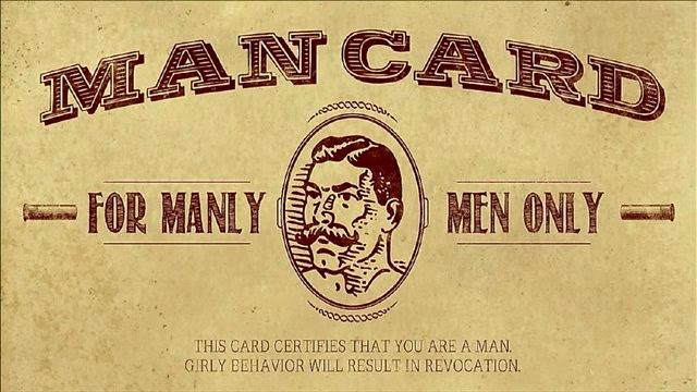 man-card-for-manly-men-only