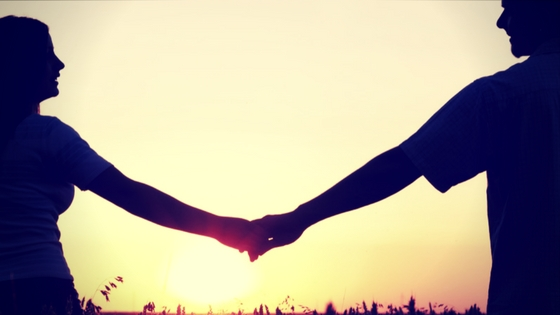 Loving is hard faithful Marriage Spouses Holding hands